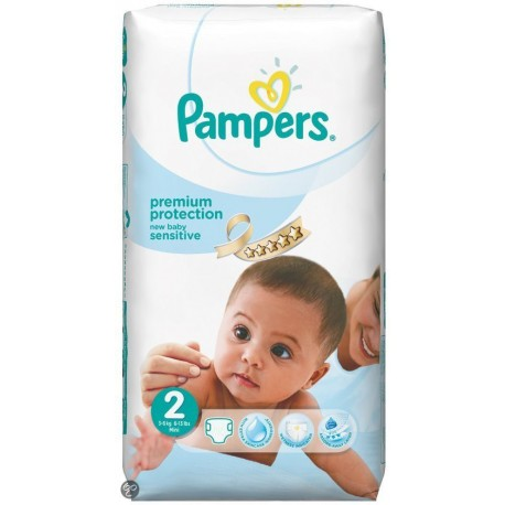 Couches Pampers New Baby Sensitive Taille 2 à Petit Prix 60